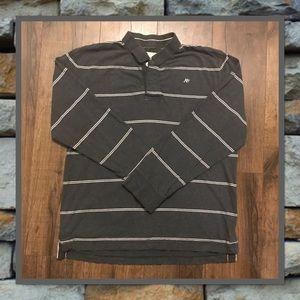 Men's Aeropostale Long Sleeve Polo Shirt